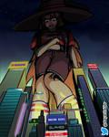 Commission - Futuristic Witch Maxine