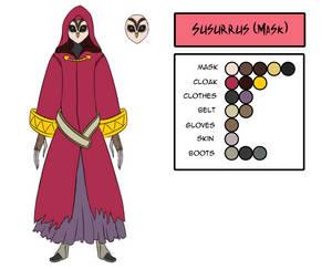 Character Design - Susurrus (Mask)