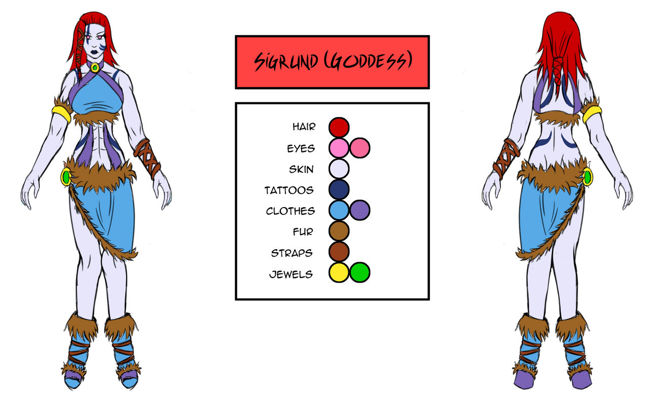 Character Design - Sigrund