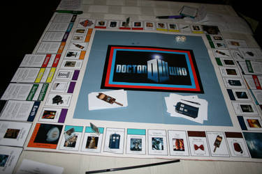 Doctor Who Monopoly by 11thDoctor