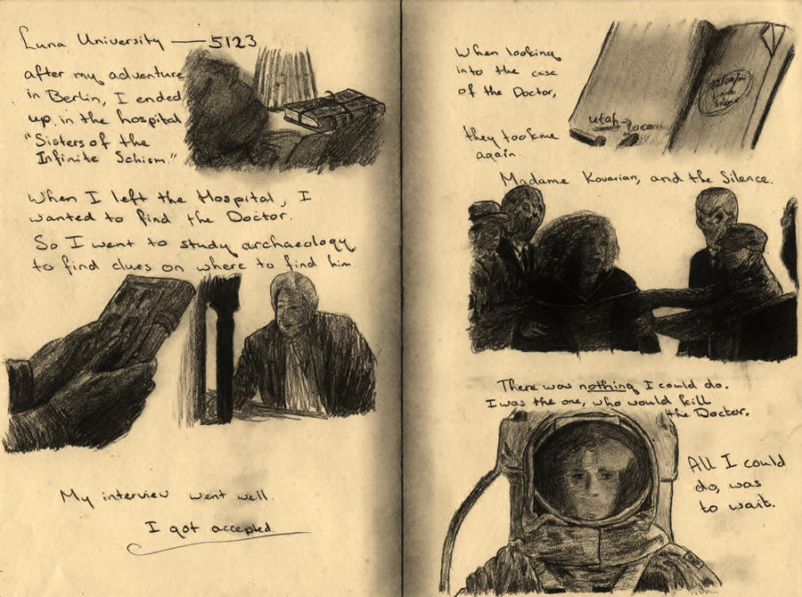 River Song's Diary, Page 3 by 11thDoctor