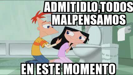 Meme phinbella mal pensamiento by parejascpfans