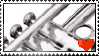 Trumpet Stamp :D by Band-Geeks
