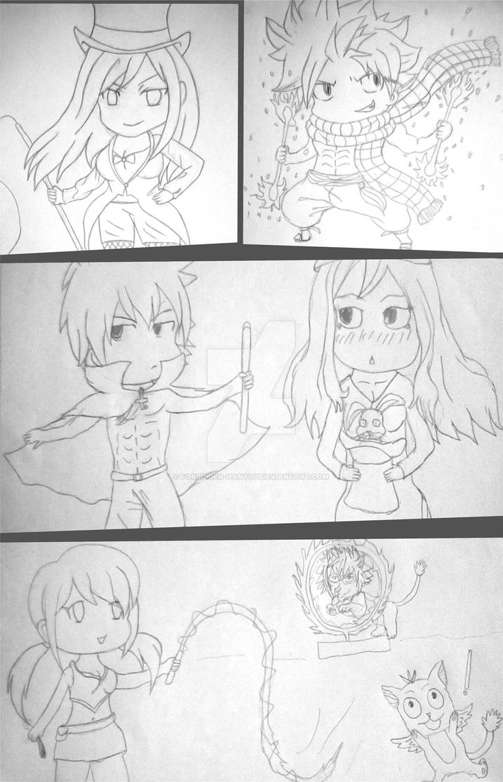 Fairy Tail Circus WIP by Forbidden-Hanyou