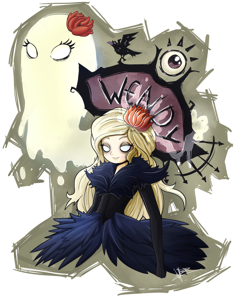 Wendy Don't Starve by JhonVasquez on DeviantArt