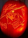 Hellsing Pumpkin Carving 2005