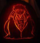Inuyasha Pumpkin Carving 2005