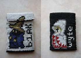 Black and White Mage Pouch