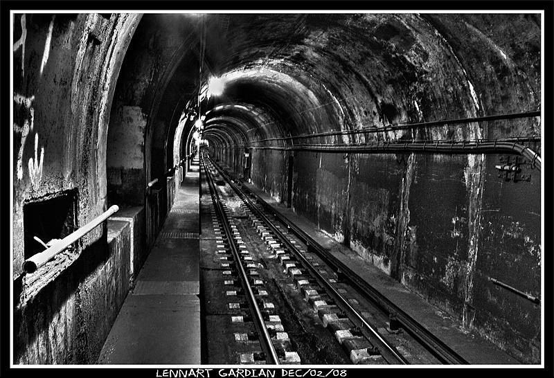 Chicago Subway Tunnel big by Dudovitz