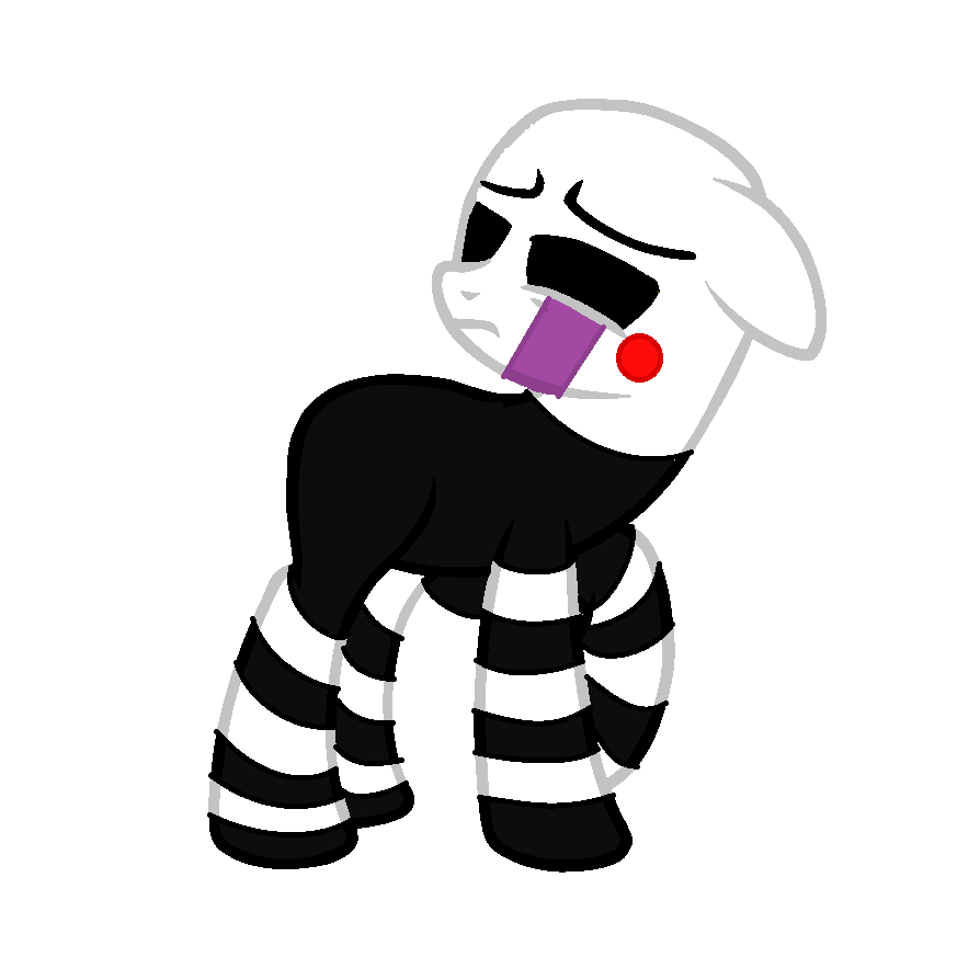 Puppet MLP (FNAF 2) By CreepypastaWolfie On DeviantArt