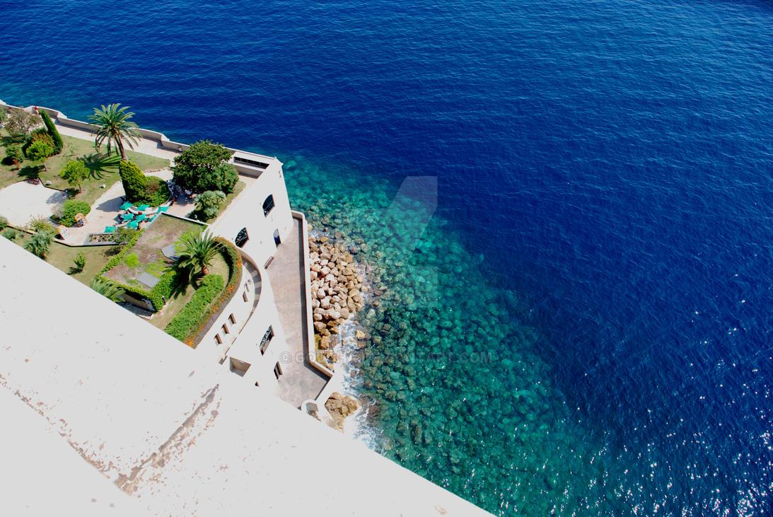 Monaco Blue Water by goucha