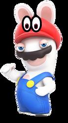 Rabbid Mario Odyssey by RabbidYoshi