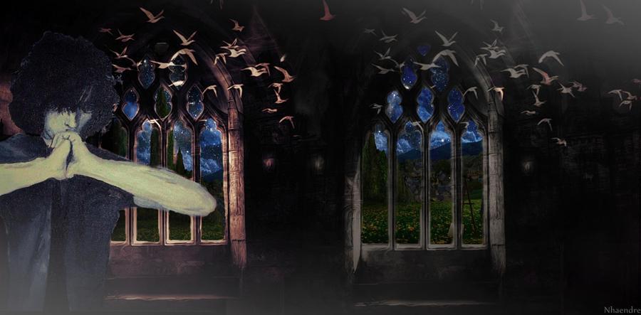 Syd Barrett escaping by Nemesis-V