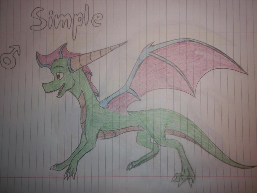 Simple Dragon by Yorialu on deviantART