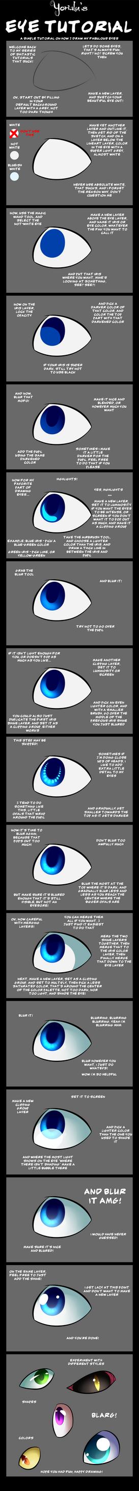 SAI Eye Tutorial by Yorialu