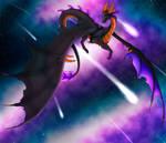 AT - Cosmic Dragoness by Yorialu