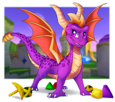 Spyro 2 tribute by Yorialu