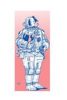 cosmonaut by alchemichael77