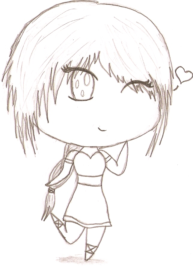 Chibi girl by SweetTeddy12 on DeviantArt