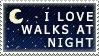 Walk at night