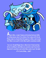 Angry Max Graphic Novel Back Cover (Colored) by AngryMaxFuryStreet