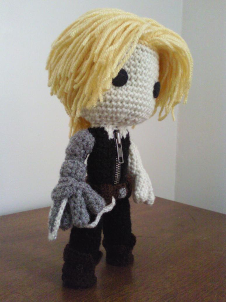 Sackboy Edward Elric of Fullmetal Alchemist by Sackboyncostume