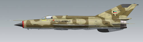 MiG-21MF Kuwait