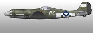 Ta-152H USAF Green