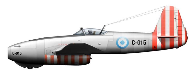 Yak-17 Argentina