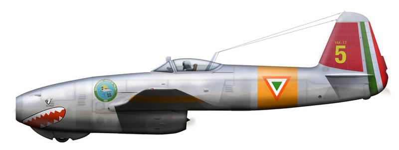 Yak-17 Mexico