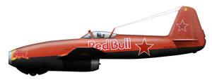 Yak-17 RedBull
