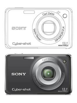 Sony dscw230