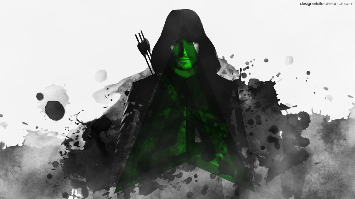 green arrow wallpaper - dogukan senturkdesignerleite on deviantart