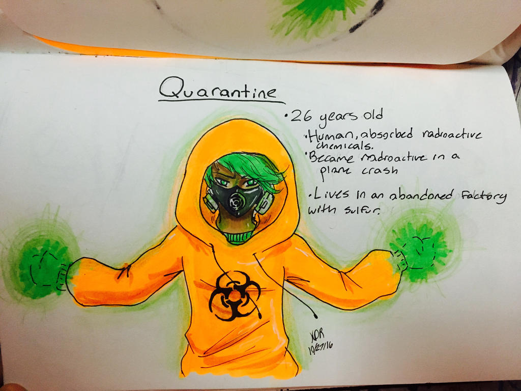 Quarantine by UNICORNKYLIE