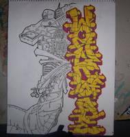 Graffiti by eMJayBee1