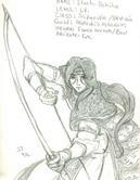 Itachi Uchiha as a Sniper Nin by Jadejj