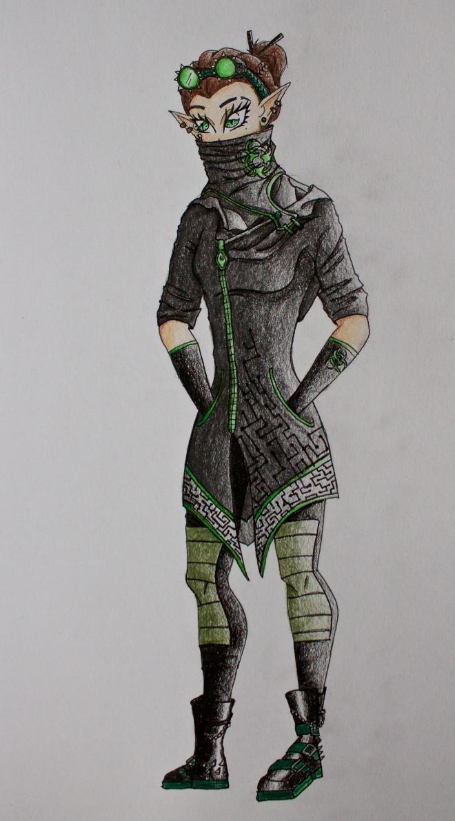 Steampunk_Cyberpunk elf