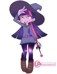 Little Witch Equestria Twilight