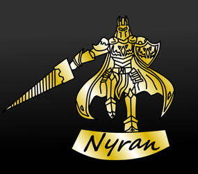 Nyran Golden Statue by Jmp01