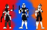 J ReVerse - Rebel Clones Redesigns=Fordo/Rex/Cody=
