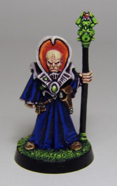 Genestealer Magus by FraterSINISTER