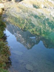 Water of Lake Fiorenza (2113m) by FraterSINISTER