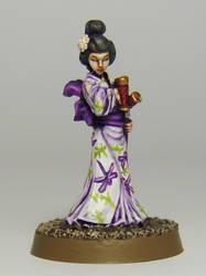 Kaori, Onna-bugeisha female warrior