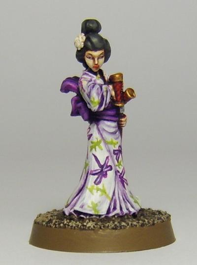 Kaori, Onna-bugeisha female warrior by FraterSINISTER