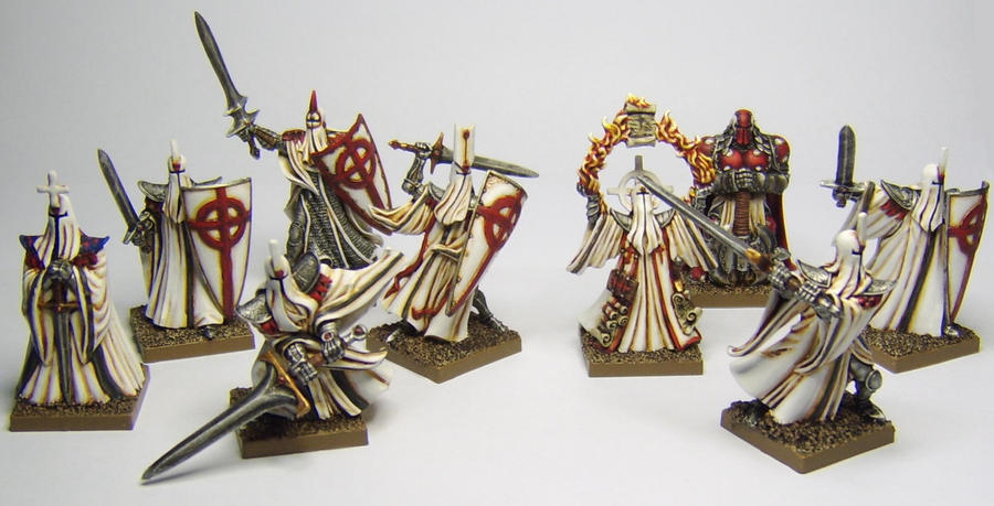 MORDHEIM Order of the Light Warband by FraterSINISTER