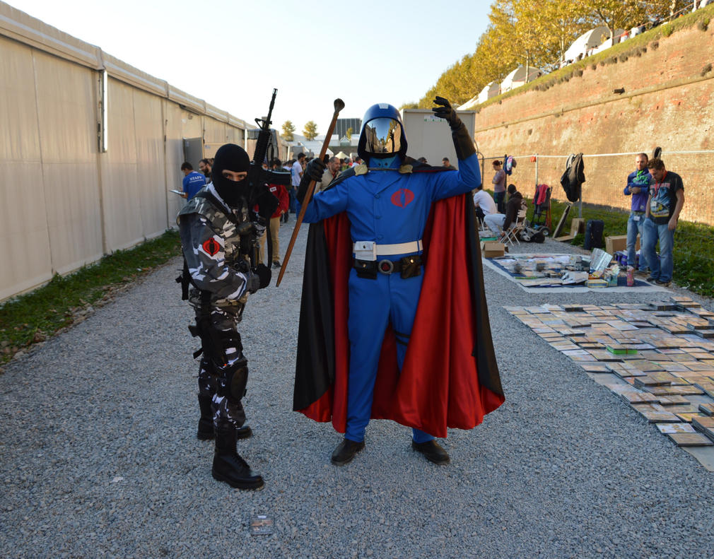 Cobra Commander at Lucca Comics and Games 2014 by FraterSINISTER