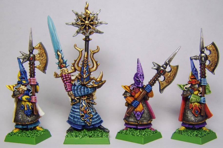 kuponkikoodit yksityiskohtainen ilme uusi aito Realm of Chaos: Tzeentch Champion and Dark Elves by ...