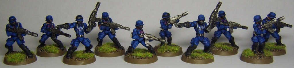 COBRA Troopers and Officers by FraterSINISTER