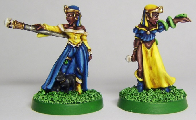 Tzeentch Thrall Witches by FraterSINISTER