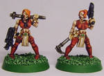Rogue Trader: Dee Dee Sisters by FraterSINISTER